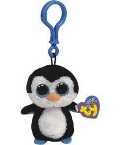 TY Penguin Keyring