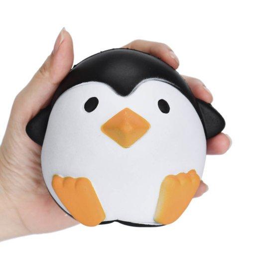 Squidgy Penguin Stress Toy