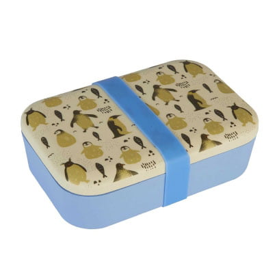 Bamboo Penguin Lunch Box