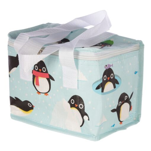 Woven Penguin Cool BagLunch Bag