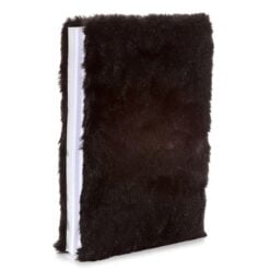 Fluffy A5 Penguin Lined Notebook